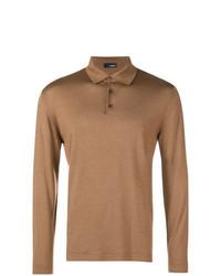 Lardini Longsleeved Polo Shirt