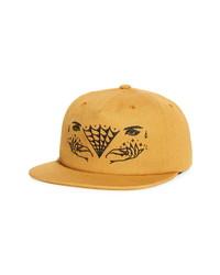 RVCA J Brown Snapback Hat