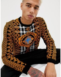 ASOS DESIGN Jumper In Baroque Design