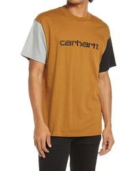 CARHARTT WORK IN PROGRESS Tricolor T Shirt