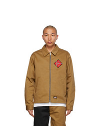 Kidill Brown Dickies Edition Winston Smith Graphic Jacket