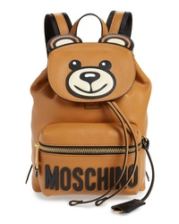 Moschino Teddy Bear Faux Leather Backpack
