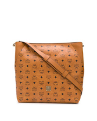 MCM All Over Logo Tote Bag
