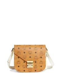 MCM Small Visetos Canvas Shoulder Bag