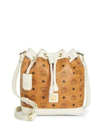 MCM Small Visetos Drawstring Crossbody Bag