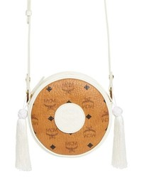 MCM Small Visetos Tambourine Crossbody Bag