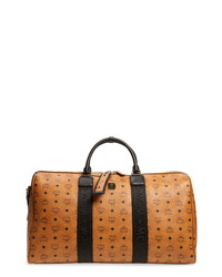 MCM Traveler Visetos Duffel Bag