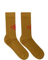 Han Kjobenhavn Tan Logo Socks