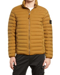 Stone Island Real Down Hooded Puffer Jacket