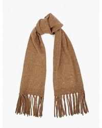 Maison Margiela 14 Camel Wool Knitted Scarf