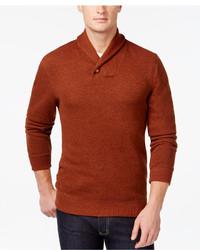 Shawl collar sweater medium 334126