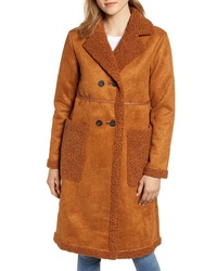 APPARIS Clothilde Faux Shearling Coat