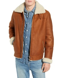 Frame Genuine Shearling Flight Jacket