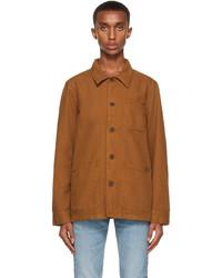 Nudie Jeans Brown Canvas Barney Jacket