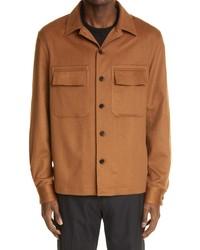 Ermenegildo Zegna Cashmere Shirt Jacket
