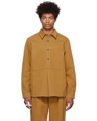 King & Tuckfield Cotton Popover Shirt