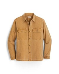 J.Crew Stretch Duck Canvas Shirt Jacket