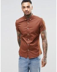 Tobacco Short Sleeve Shirt