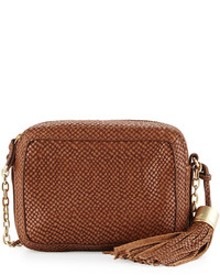 Foley + Corinna Tulie Snake Embossed Crossbody Bag Coco
