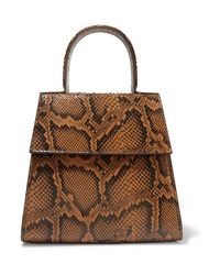 BY FA Monet Snake Effect Leather Tote