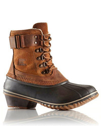 Sorel Winter Fancy Lace Ii Leather Ankle Boots