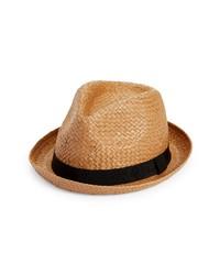 Nordstrom Basket Weave Porkpie Hat