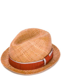 Paul Smith Ribbon Band Fedora Hat