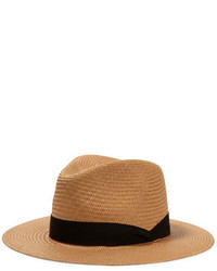 Straw panama hat light brown medium 779427