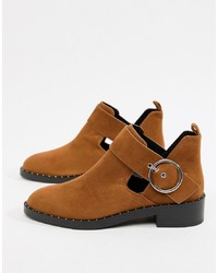 Pull&Bear Round Cutout Boot