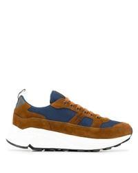 Car Shoe Contrast Low Top Sneakers