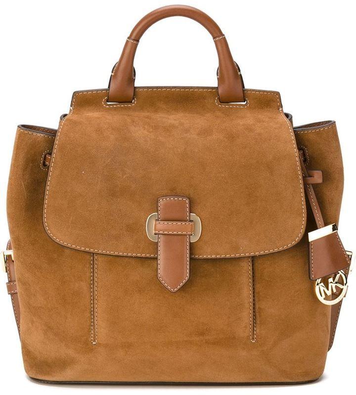 ec0f8c402757 ... real suede backpacks michael michael kors michl michl kors romy backpack  57742 3586b