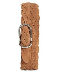 Brunello Cucinelli Braided Suede Belt