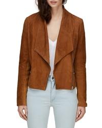 Soia & Kyo Crop Suede Jacket