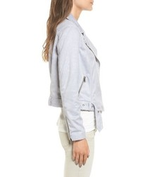 Cupcakes And Cashmere Faux Suede Moto Jacket