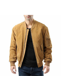 Ma 1 suede bomber jacket medium 6739524