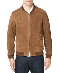 Suede bomber jacket medium 4396462
