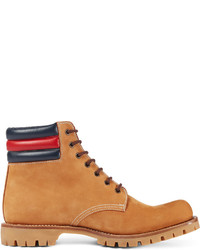 6042d4bcf Gucci Marland Suede Hiking Boot Wweb Detail, $830 | Neiman Marcus ...