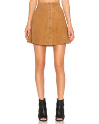 Lamarque leandra suede skirt medium 374495
