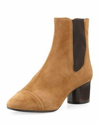 Dan suede 50mm chelsea boot brown medium 3736085