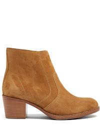 A.P.C. Cowboy Suede Ankle Boots
