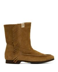 VISVIM Tan Nakona Folk Boots