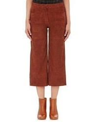 Suede culottes brown medium 778847