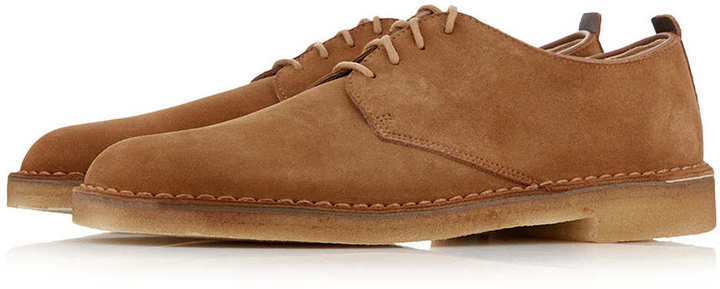 df29ea5ef41 $138, Topman Clarks Original Tan Desert Shoes