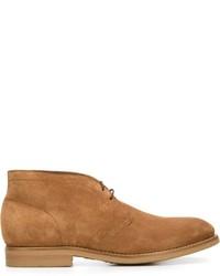 Brunello Cucinelli Lace Up Desert Boots