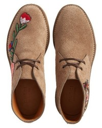bc0bf562a Gucci New Moreau Embroidered Chukka Boot, $890 | Nordstrom ...