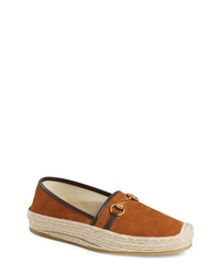 Gucci Matador Horsebit Espadrille Slip On