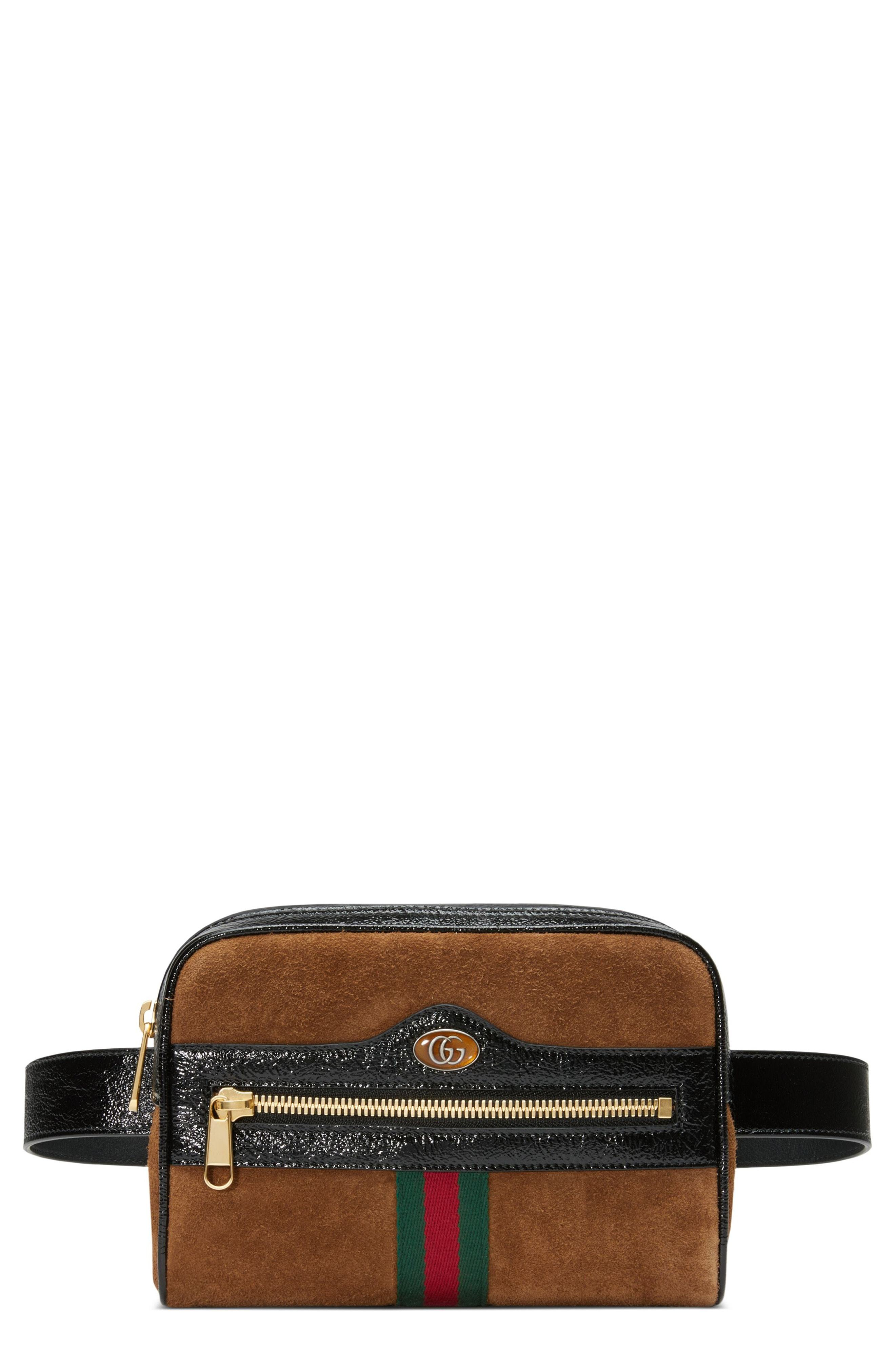 841eb7cb12fe68 Gucci Ophidia Small Suede Belt Bag, $1,390   Nordstrom   Lookastic.com