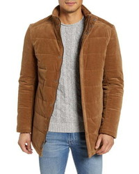 Tobacco Suede Field Jacket
