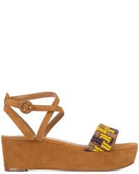 Aquazzura Havana Flatform Sandals