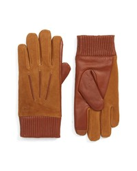 Polo Ralph Lauren Nappa Leather Suede Gloves